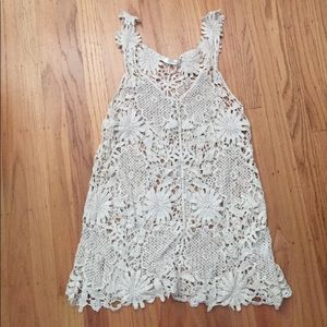 Lace coverup!